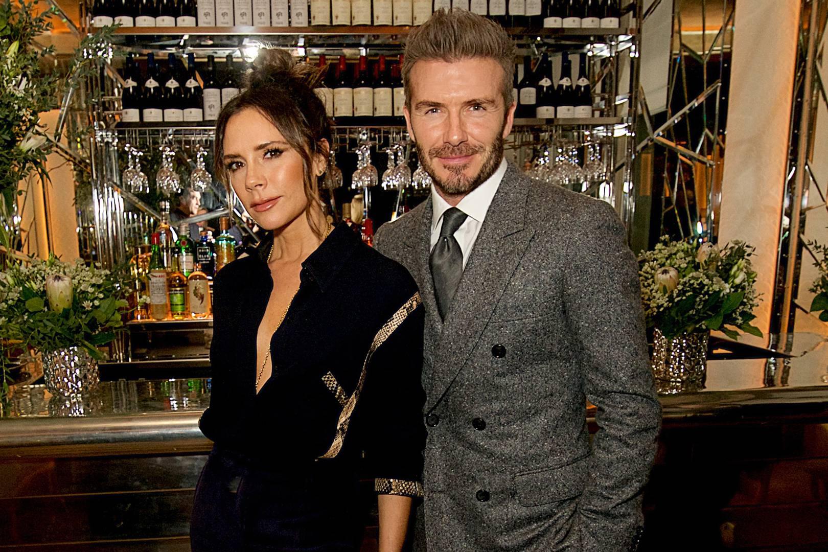 4b350285c29 David Beckham s Dinner  London Fashion Week Men s AW19