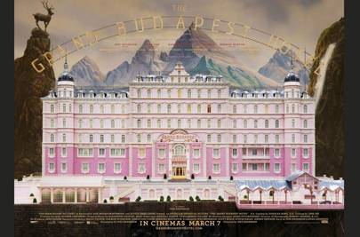 3. The Grand Budapest Hotel