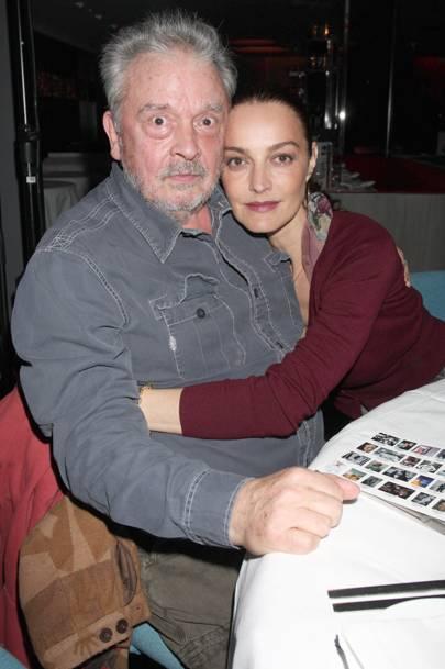 David Bailey and wife Catherine