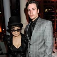 Yoko Ono and Aaron Johnson