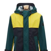 Relaxed-fit raincoat by Hugo Boss