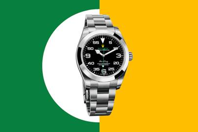 What makes this Rolex Air King so unusually valuable?
