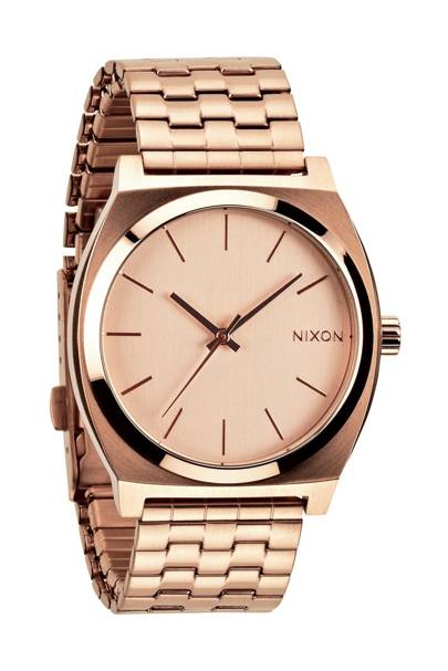 Nixon Rose Gold Time Teller