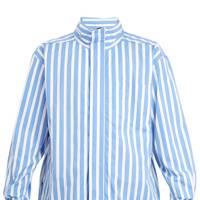 Drawstring collar shirt by Martine Rose