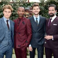 Oliver Cheshire, Eric Underwood, Jim Chapman and Jack Guinness