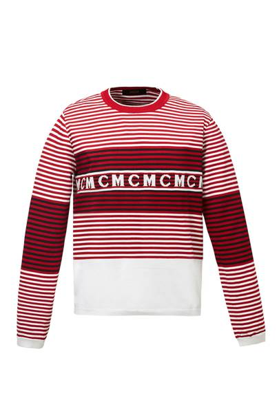 Strip knitted jumper by MCM