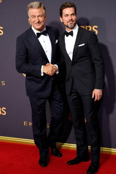 Alec Baldwin and Matt Bomer