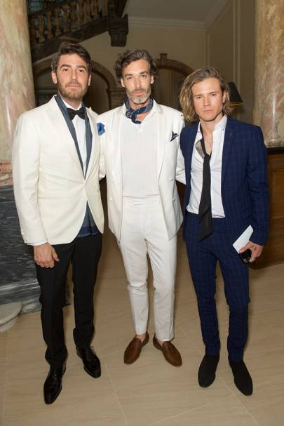 Robert Konjic, Richard Biedul and Dougie Poynter