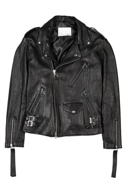 Matthew Miller for Harvey Nichols leather jacket