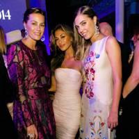 Yasmin Le Bon, Nicole Scherzinger and Amber Le Bon