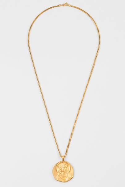 Jacob & Co x Kanye West 'Virgin Mary' medallion necklace