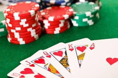 Larry strip poker
