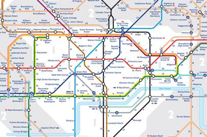 station toilets tube map