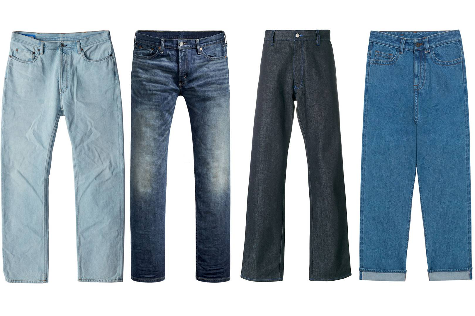beb2c005 Skinny jeans are for chumps, it's time to go wide | British GQ
