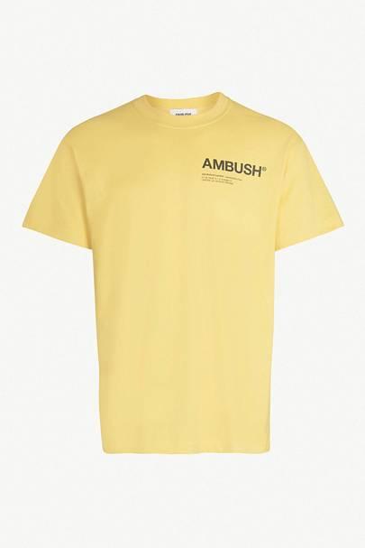 Limited-edition cotton-jersey T-shirt by Ambush