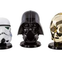 Replica helmet speakers