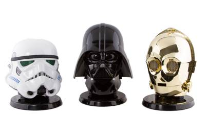 Replica helmet speakers