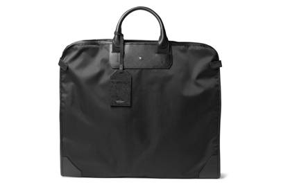 Garment bag by Montblanc