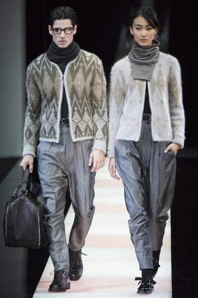 a1ba2b79a79 Giorgio Armani Autumn Winter 2015 Menswear show report