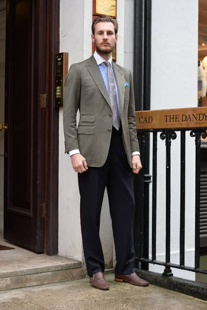 Learn from these 31 superbly-suited men on Savile Row ...