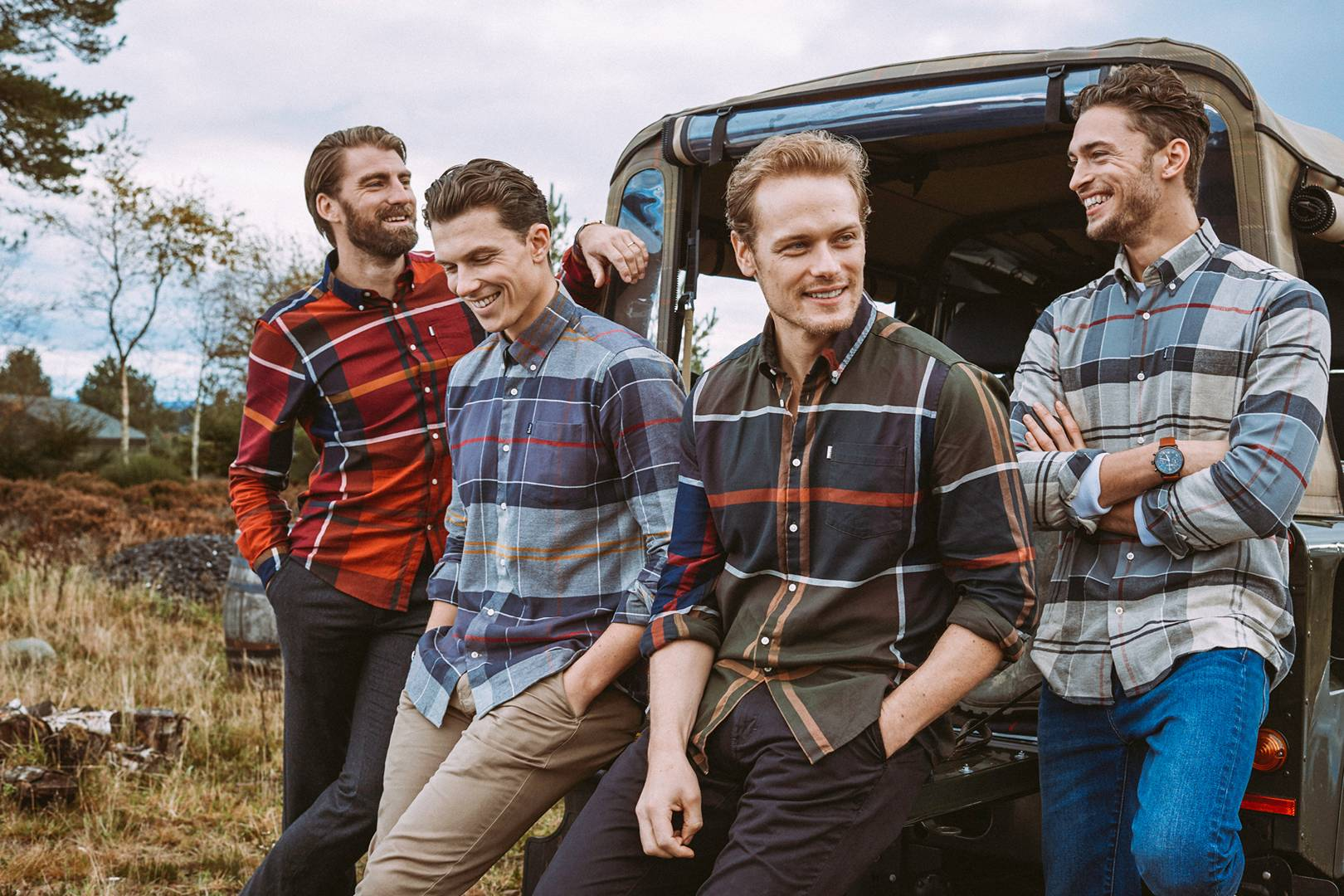 e7727e9e9aa Look your best this autumn with Barbour