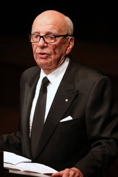 Media and publishing: Rupert Murdoch