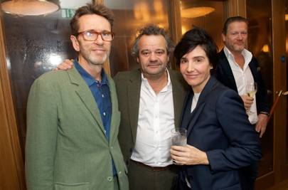 Oliver Peyton, Mark Hix and Sharleen Spiteri