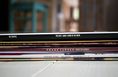 Wax & Stamp vinyl subscription