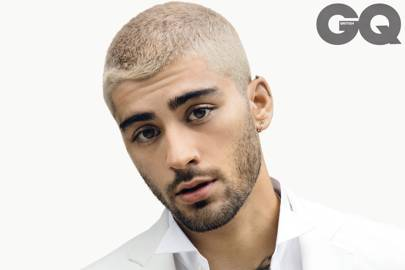 Zayn went bald because he 'destroyed' his hair with bleach