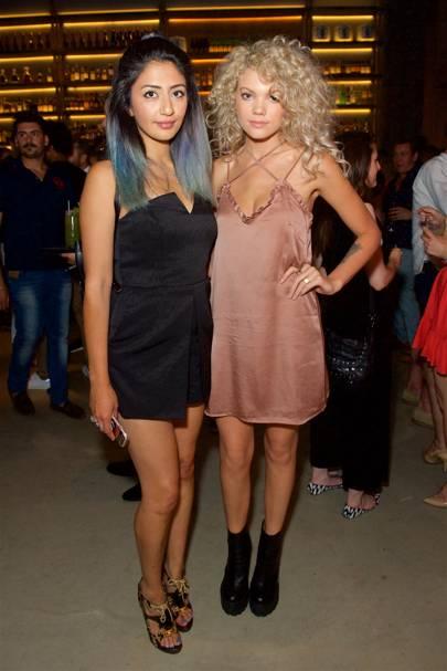 Heba Elemara and Becca Dudley