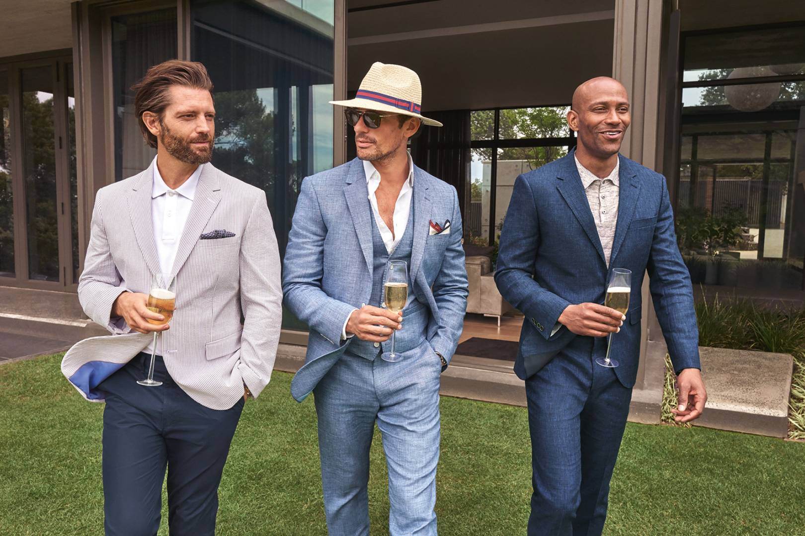 9e2d192b4b7 Learn how to dress for a wedding with David Gandy