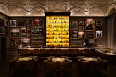 21. Dinner at Berners Tavern in London