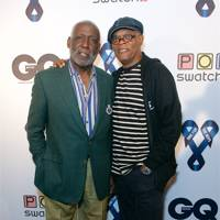 Richard Roundtree and Samuel L Jackson