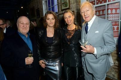 Harvey Goldsmith, Tracey Emin, Anastasia Webster and Harold Tillman