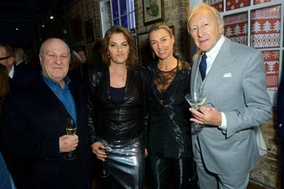 Harvey Goldsmith, Tracey Emin, Anastasia Webster and Harold Tillman
