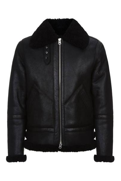 'Ian' shearling jacket by Acne Studios