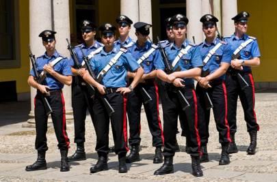 Carabinieri officers
