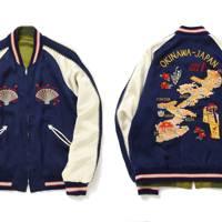 Buzz Rickson's x Fennica Okinawa reversible jacket
