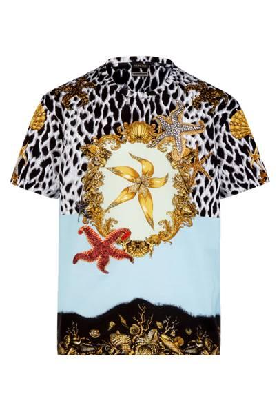 Versace 'Tresor de la Mer' T-shirt