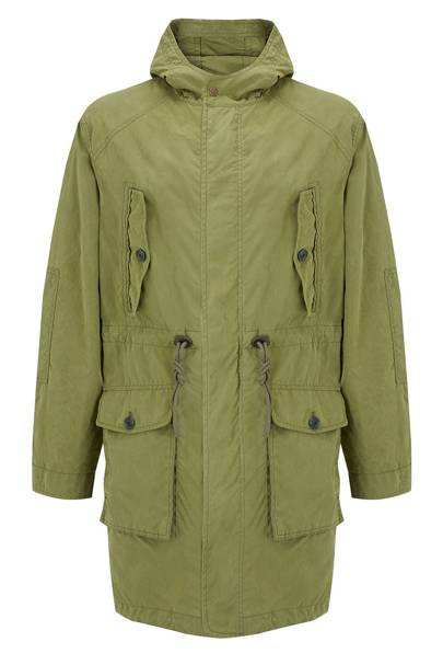 Khaki parka by John Lewis & Co