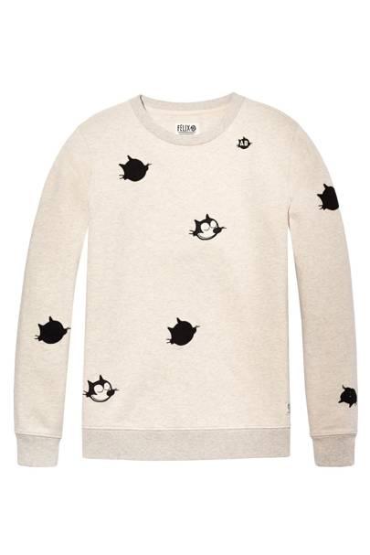 Felix the Cat sweatshirt by Scotch & Soda