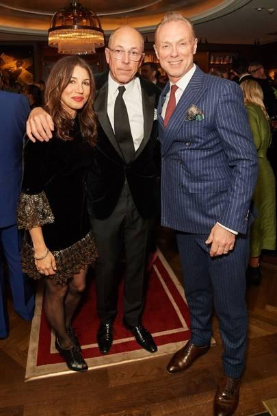 Lauren Kemp, Dylan Jones and Gary Kemp