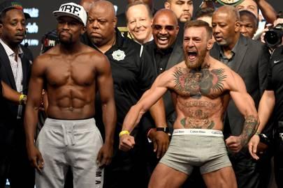 Floyd Mayweather Jr. v Conor McGregor - Weigh-in