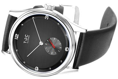 Ulysses Saturn Black by The Toc Watch