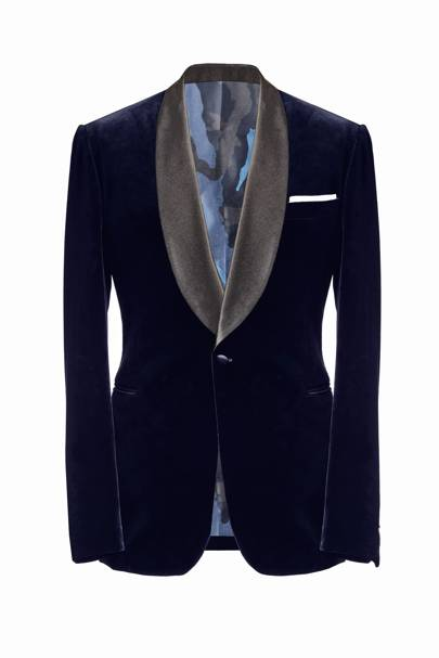 Annabel's smoking jacket by Charlie Casely-Hayford