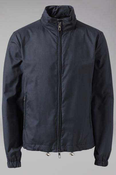 Water-repellant blouson by Giorgio Armani