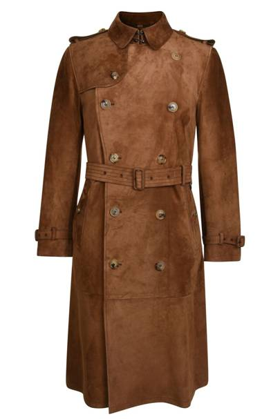 Trench coat by Burberry