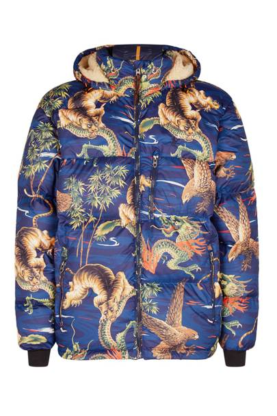 Animal print padded jacket by Polo Ralph Lauren