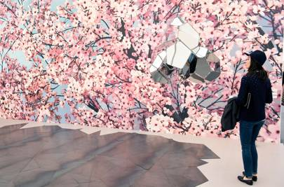 Glenn Ligon, Untitled (Bruise/Blues), 2014, Camden Art Centre, London
