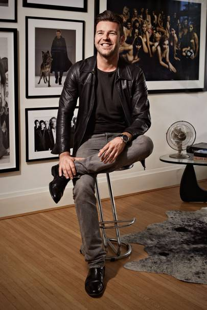 Paul Solomons, Creative Director at British GQ